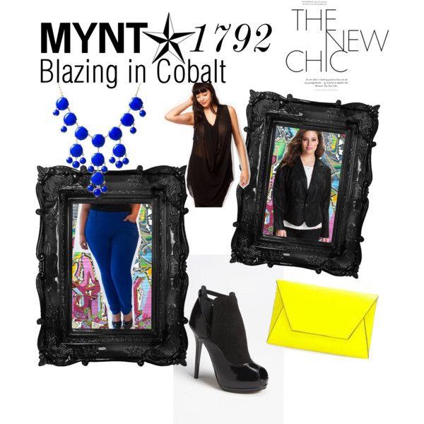 Blazing in Cobalt inspiration