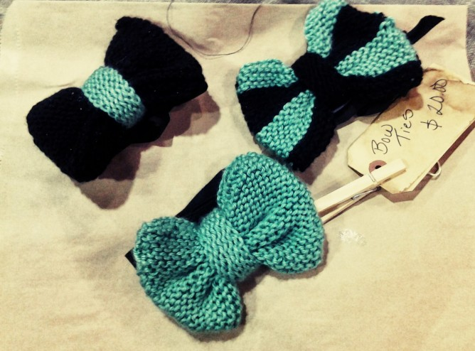 crochet bow ties from SOFISTAFUNK