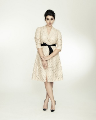 EMBROIDERED EYELET LONG JACKET BY ISABEL TOLEDO