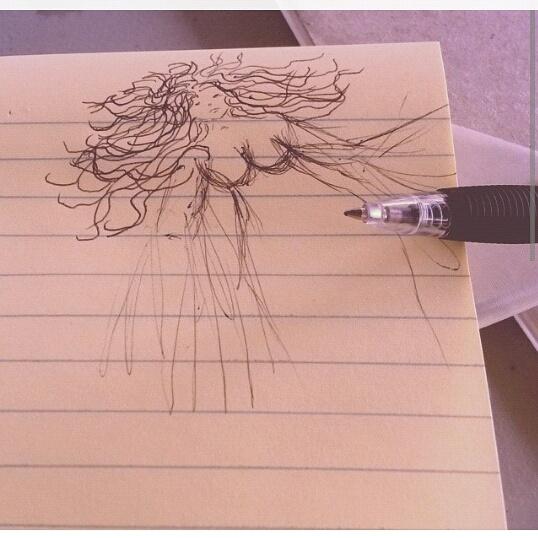 sketch by Kamylin Naylor-Miller | curvesalamode.com