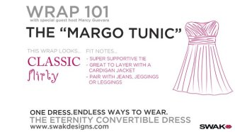 "SWAK's Wrap 101 The ""MARGO TUNIC"""