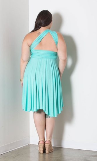 SWAK Eternity Dress in Island Aqua