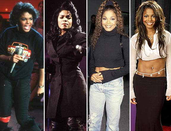 Untamed Style Icon Janet Jackson Curves A La Mode