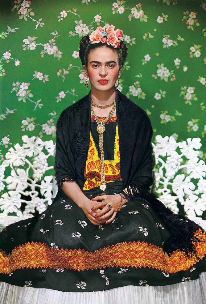 Nickolas Muray. Frida on White Bench, New York, 1939