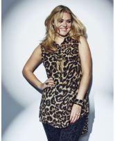 LOVEDROBE ANIMAL PRINT BLOUSE and CAMISOLE via Simply Be