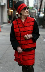 Zelda Kaplan (photo via http://advancedstyle.blogspot.com/)