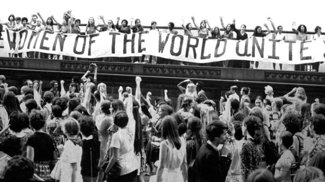 Photostill: WOMEN UNITE, 1970, New York City