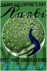 AARTI, you brilliant unwavering peacock