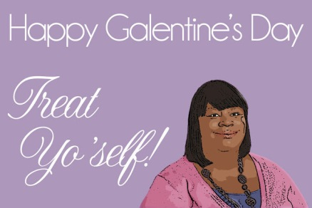Card via http://www.theprothros.com/2012/02/galentines-day.html
