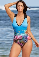 Laura Wells for S4A -- Laura Wells Seascape One Piece
