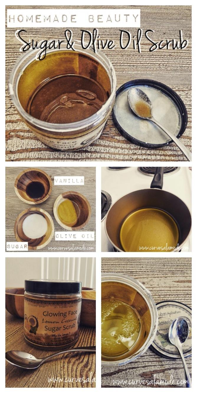 HOMEMADE BEAUTY | Sugar and Olive Oil Scrub