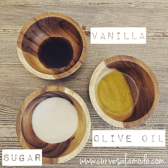 INGREDIENTS: Sugar, Olive Oil and Vanilla