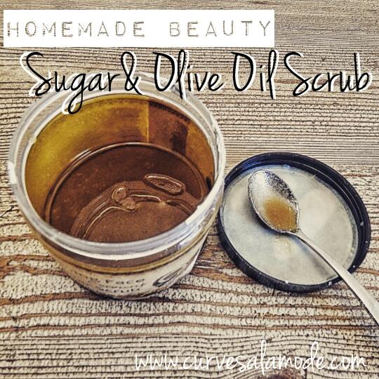 Sugar and Olive Oil Scrub