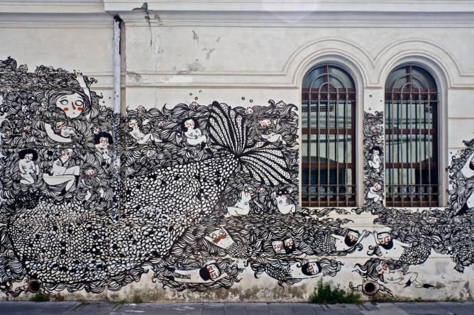 ALT!rove - Street Art Festival in Catanzaro, Italy. Photos by Angelo Jaroszuk Bogasz