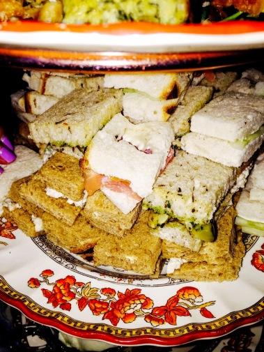 Tea Sandwiches at CAULEY SQUARE'S TEA ROOM