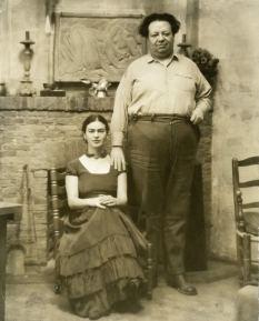 Frida & Diego. 1929