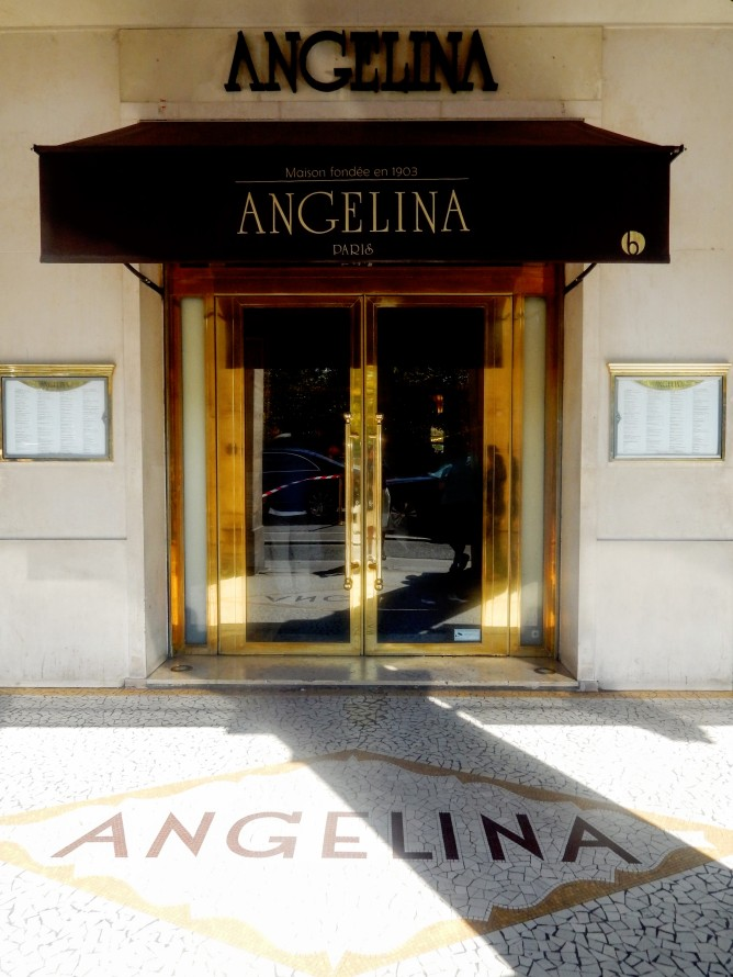 Brunch at Angelina's Tea House