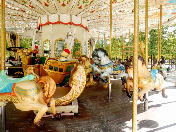 Carousel ride anyone?