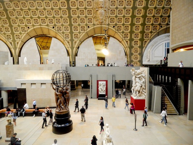 A view of the Musee D'Orsay