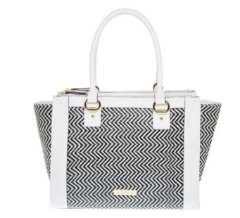 Liz Claiborne Windsor Shopper Tote Bag