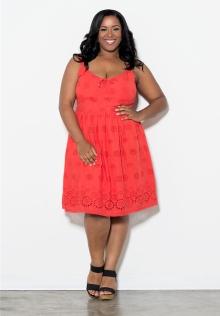 Monica Eyelet Dress