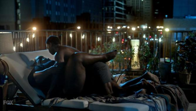 Gabourney Sidibe love scene | Empire S2
