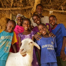 Photo via Heifer International